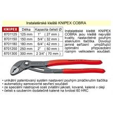 Kleště KNIPEX siko COBRA 125 mm