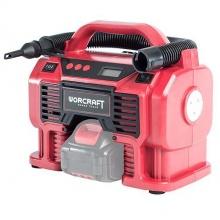 Aku kompresor Worcraft CAC-S20Li, 20V, multifunkční (bez baterie a nabíječky)