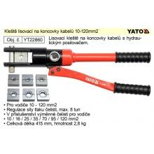 Kleště lisovací na koncovky kabelů 10-120mm2