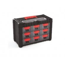 Organizér přenosný/závěsný 10 přihrádek TES PPNS303-R444