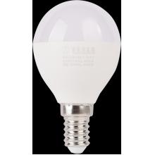 MG140830-7 Tesla - LED žárovka miniglobe BULB E14, 8W, 230V, 900lm, 25 000h, 3000K teplá bílá, 180°