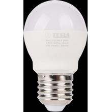 MG270830-7 Tesla - LED žárovka miniglobe BULB E27, 8W, 230V, 900lm, 25 000h, 3000K teplá bílá, 180°