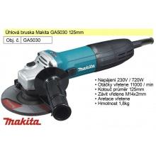 Bruska úhlová 125 mm 720W  Makita GA5030