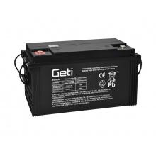 Baterie olověná 12V 120Ah Geti pro soláry