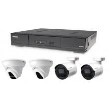 Kamerový set 1x AVTECH DVR DGD1005AV, 2x 2MPX Dome kamera AVTECH DGC1004XFT a 2x 2MPX Bullet kamera AVTECH DGC1105YFT + 2x napájecí zdroj ZDARMA!