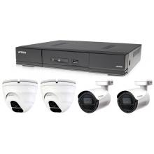 Kamerový set 1x AVTECH DVR DGD1005AV, 2x 5MPX Dome kamera AVTECH DGC5205TSE a 2x 5MPX Bullet kamera AVTECH DGC5105T + 2x napájecí zdroj ZDARMA!