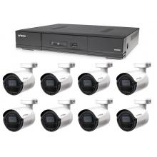 Kamerový set 1x AVTECH DVR DGD1009AV a 8x 5MPX Bullet kamera AVTECH DGC5105T + 4x napájecí zdroj ZDARMA!