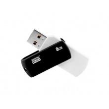 Flash disk GOODRAM USB 2.0 8GB bíločerná