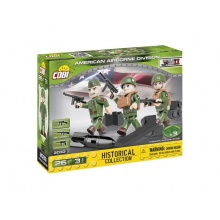 Stavebnice COBI 2033 3 figurky s doplňky Americká letecká divize, 26 k