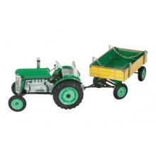 Dětský traktor KOVAP ZETOR GREEN 28 cm