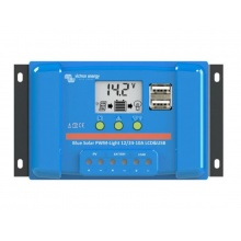 SolárníregulátorPWM Victron Energy 20A LCD a USB12V/24V