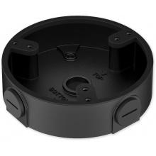 PFA137-BLACK - černá - zapojovací box kulatý, černý