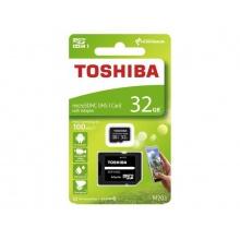 Karta paměťová TOSHIBA micro SD 32 GB s adaptérem