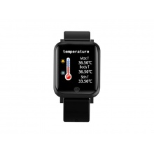Hodinky IMMAX TEMP WATCH BLACK