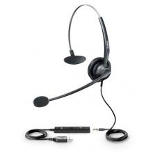 UH33 Yealink - náhlavní souprava na jedno ucho, 3,5 mm jack + USB