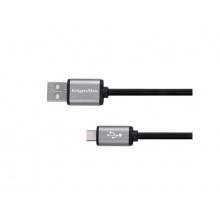 Kabel KRUGER & MATZ KM1235 USB - micro USB kabel 1m