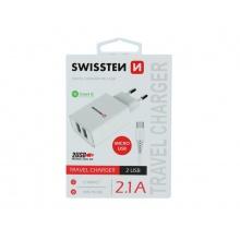Adaptér USB SWISSTEN SMART IC 22051000
