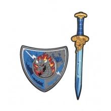 Dětský rytířský meč se štítem TEDDIES 53 cm