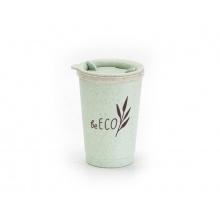 Kelímek s víčkem G21 beECO Espresso 280ml zelený