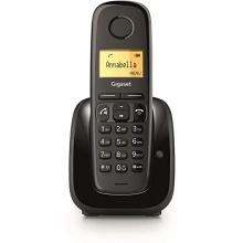 GIGASET-A280-BLACK Gigaset - DECT/GAP bezdrátový telefon, barva černá