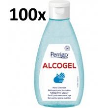 100x ALCOGel Hand Cleanser 200ml - antibakteriální gel na ruce