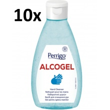 10x ALCOGel Hand Cleanser 200ml - antibakteriální gel na ruce