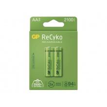 Baterie AA (R6) nabíjecí 1,2V/2100mAh GP Recyko  2ks