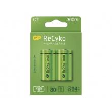 Baterie C (R14) nabíjecí 1,2V/3000mAh GP Recyko  2ks