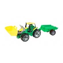 Dětský traktor s přívěsem LENA 60 cm