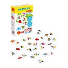 Hra vzdělávací PEXI Hra školou - Barvičky