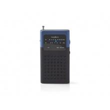 Rádio NEDIS RDFM1100BU BLACK/BLUE