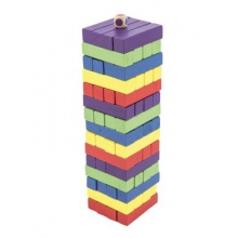 Hlavolam BONAPARTE Věž dřevěný 60ks