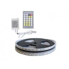 LED pásek sada 5m 12V 3527 60LED/m IP66 max. 4,8W/m CCT, variabilní + CCT kontrolér