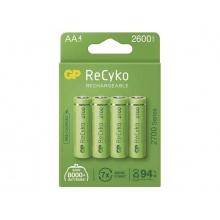 Baterie AA (R6) nabíjecí 1,2V/2600mAh GP Recyko  4ks