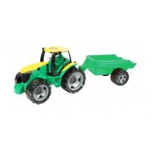 Dětský traktor s přívěsem LENA 94 cm