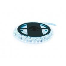 LED pásek 12V 5050  60LED/m IP20 max. 14.4W/m bílá studená - ice blue (cívka 1m)