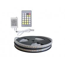 LED pásek sada 5m 12V 3527 120LED/m IP66 max. 9,6W/m CCT, variabilní + CCT kontrolér