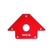 Magnetický úhelník ke svařování YATO YT-0864 s otvorem 22,5kg
