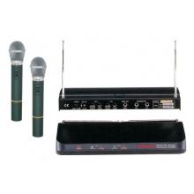 Mikrofon bezdrátový SHOW WR202R+2xVXM286TS sada
