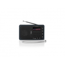 Rádio NEDIS RDFM2100GY BLACK/GREY