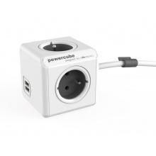 PowerCube Extended USB Grey 3m