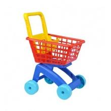 Dětský nákupní vozík TEDDIES 59 cm