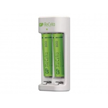 Nabíječka baterií GP Eco E211 +  2xAAA ReCyko 800