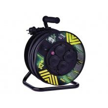 Prodlužovací kabel na bubnu - 4 zásuvky 25m EMOS P084253
