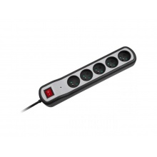 Prodlužovací přívod 5 zásuvek 5m REBEL URZ3063-5W