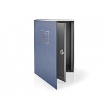 Trezor ve tvaru knihy NEDIS BOOKSEDL01BU