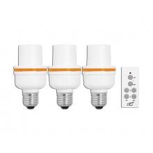 Dálkově ovládaná patice žárovky LTC LXU203 3+1