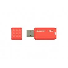 Flash disk GOODRAM USB 3.0 64GB oranžová