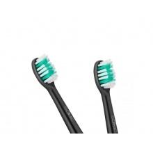 Hlavice pro zubní kartáčky TEESA SONIC BLACK střední