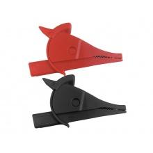 Krokosvorka UNI-T C02A sada-červená+černá L=80mm CAT III 1000V/CAT IV 600V